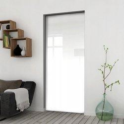 Drzwi Przesuwne 85 Płyta Białe Kaseta