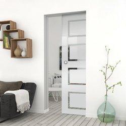Drzwi Szklane Przesuwne 65 GEO12 KASETA