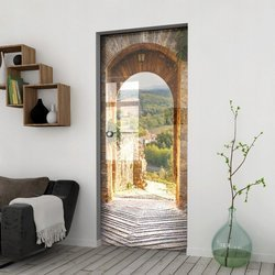 Drzwi Szklane Przesuwne 65 GR-H02 KASETA