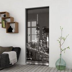 Drzwi Szklane Przesuwne 75 GR-H03 KASETA