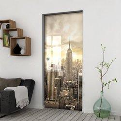 Drzwi Szklane Przesuwne 75 GR-H09 KASETA