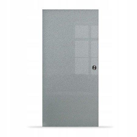 Drzwi Szklane Przesuwne 650X2095 8MM ESG MILENIUM + KASETA