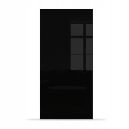 Drzwi Szklane Przesuwne 95 Płyta Czarne KASETA