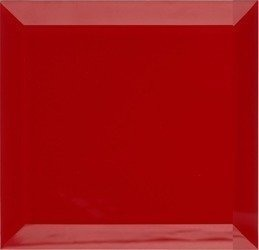 Płytki Kafelki Lustrzane 10X10 4MM Faza Czerwona