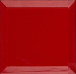 Płytki Kafelki Lustrzane 15X15 4MM Faza Czerwona
